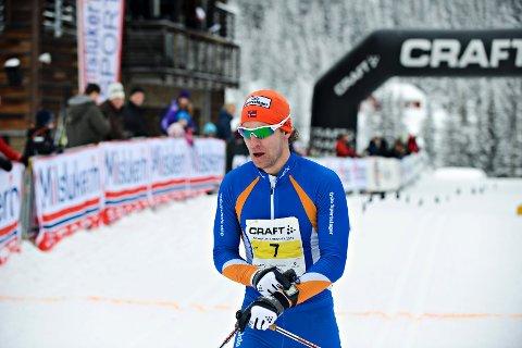 Lars Petter Stormo i mål.