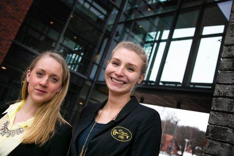 KVINNENETTVERK: Styremedlem Maria Durucz og leder Ylva Kolstad Jensen vil ha med seg mange ulike typer inn i Colegium Alfa.