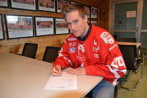 Dan Nygård (27) skrev onsdag under for to år med Stjernen.