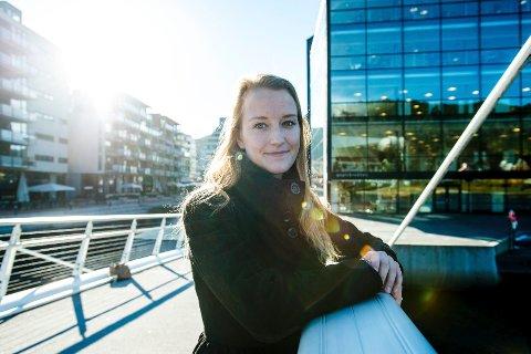 Sandra Bruflot er valgt til ny nestleder i Unge Høyre.