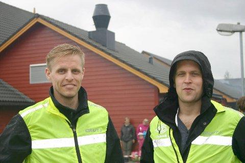Lørdag arrangerer Thor Christian Jacobsen og Thor Øystein Velde Auklandshamn Triatlon.