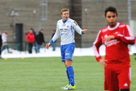 Rasmus Isegran trener med Godset i sommer.