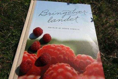 Boka Bringebærlandet ble gitt ut i Mai, etter utallige runder på kjøkkenet for å finne frem til de oppskriftene de fleste av oss kanskje ikke forbinder med bringebær.