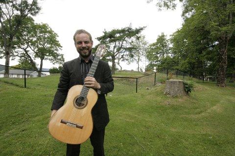 Anders Clemens Øien holdt lørdag en fantastisk konsert i Drøbak kirke.