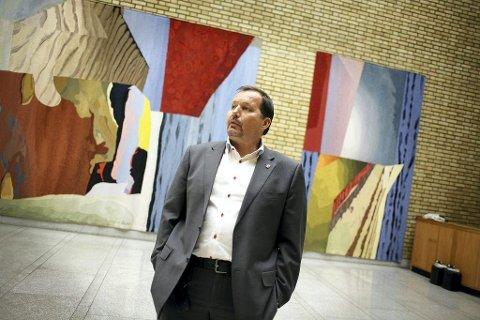 PR-JOBB: Tidligere ordfører i Tønsberg og nestleder i Frp, Per Arne Olsen (Frp) har hatt politikk som jobb i 30 år. Nå har går han til Norges største pr-byrå. Foto: Tri Nguyen