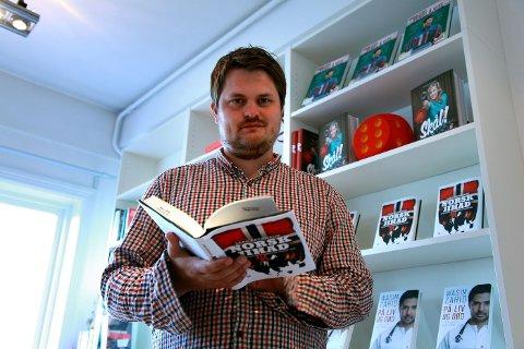 HOS KAGGE: Lars Akerhaug (31) slapp nylig boken «Norsk Jihad, muslimske ekstremister blant oss» på Kagge forlag.