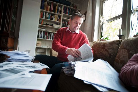 Forfatter Eirik Veum er aktuell med del to i trilogien om «Nådeløse Nordmenn».