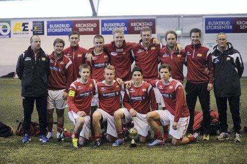 Konnerud var eneste fjerdedivisjonslag på sluttspilldagen i Kollen Cup. Laget tok seg helt til finale i kamp mot andre- og tredjedivisjonslag.