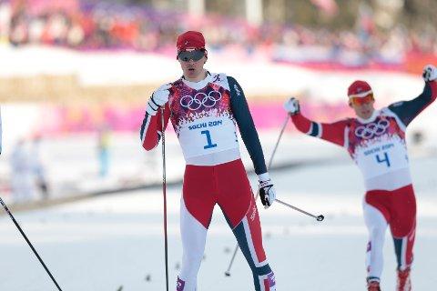 Ola Vigen Hattestad ble OL-mester på sprinten tirsdag.