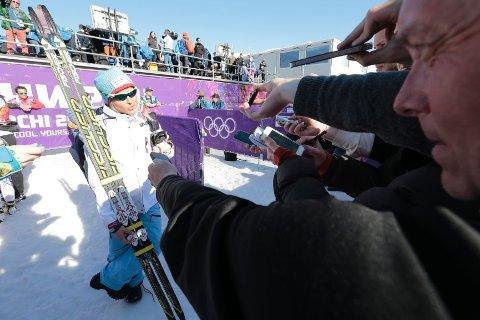 Skiene var det store samtaleemnet etter Norges stafettfiasko. De var ikke på vår side, konkluderte Therese Johaug.