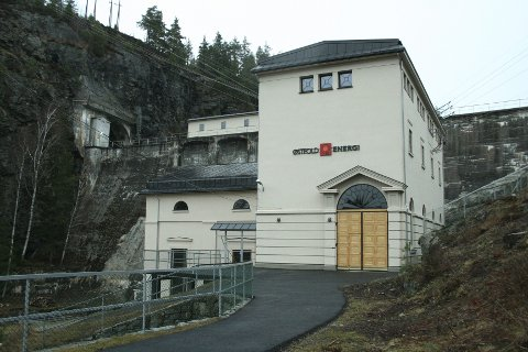 Gullkantet: Østfold Energi eier blant annet Brekke kraftstasjon, og har de siste årene sikret solid utbytte til de ulike Østfold-kommunene.Foto: Østfold Energi
