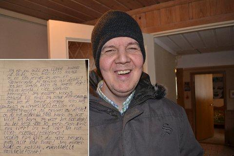 Jan Evensen har hatt dette brevet på trykk i DT flere ganger.