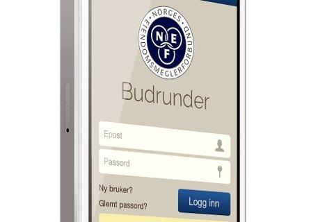 Den nye bolig-appen tilfredsstiller alle kravene til skriftlighet i budrunder ved kjøp av eiendom.
