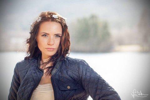 Kanskje neste Miss Univers: Solveig Fjelde Hartvliksen er klar for konkurranse i juni.