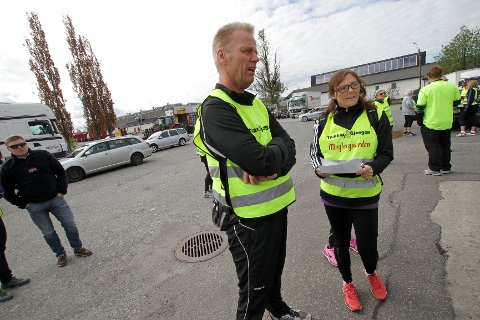 Anita og Jørn Tørmoen var turledere.