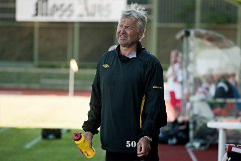 MFK-trener Arne Erlandsen kan notere en ny hjemmeseier for de gul-sorte