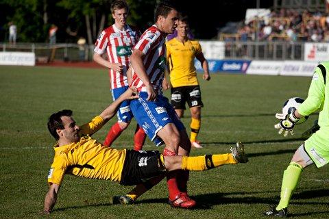 Jorge Rodrigues scoret MFKs første mål.