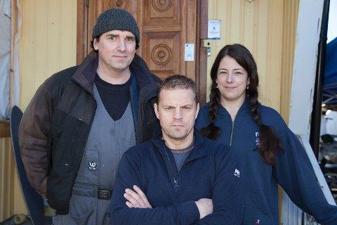 Jon Lyng, Otto Robsahm og Helén Sturesson, alle fra Lier, blir å finne på TV Norge tirsdag 19.30.