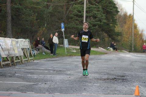 Andreas Grøgaard vant Fredrikstad Maraton.