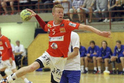 TAP: Espen Røhmer scoret åtte ganger mot Viking. Det hjalp lite. Follo HK tapte med ti. FOTO: ARKIV