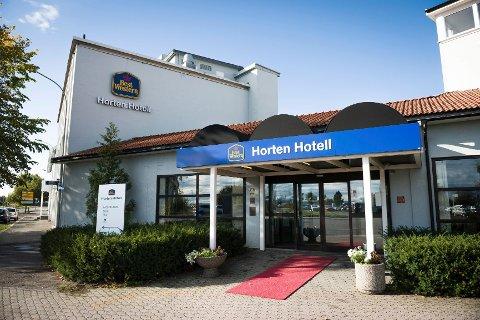 Det var på nære nippet at ikke alle dørlåsene måtte skiftes ut ved Best Western Horten Hotell. Foto: Kjetil Broms