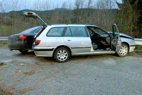 Føreren av Audien trodde ikke den andre bilen ville stoppe etter et sammenstøt på E18. Men når den andre bilen stoppet, var Audi-føreren så sint at han like godt torpederte den andre bilen.