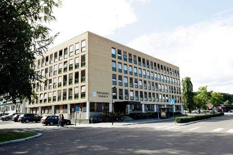 Tønsberg rådhus er til salgs.