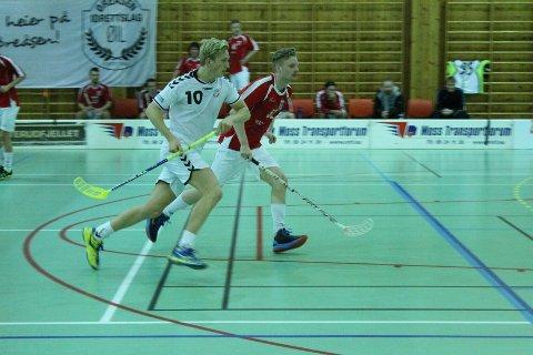 Jørgen Sjolte spilte en meget bra kamp for Øreåsen