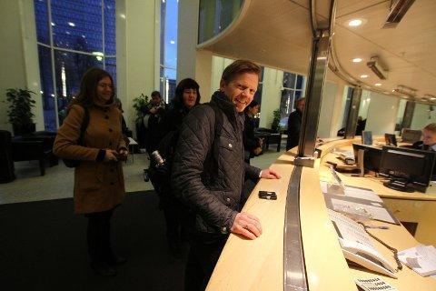 En smånervøs ordfører Tage Pettersen mener signalene han har fått er positive for Moss.