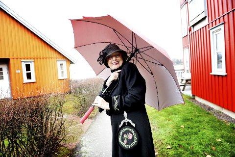 Ruth Støle Fjeldberg har fylt sytti. – Hver alder har sin sjarm, sier hun.