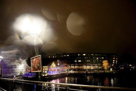Det er ventet mye nedbør i Vestfold søndag kveld og natt til mandag.