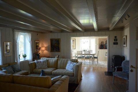 Habberstad-familien har laget en flott og funksjonell bolig, samtidig som alt er gjennomført i klassisk stil, med stor vekt på detaljene.