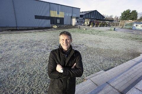 Nei: Styreleder i Ski IL Allianse, Svein Thompson sier nei til Møteplassen med dagens utforming. Ski IL Ishockey står ikke bak brevet til kommunen.Foto: ole kr. trana