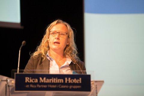 Anne Espelien mener Haugesund er motoren i regionen.