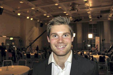 ENGASJERT: Nils Kristen Sandtrøen brenner for jobben han skal gå på i desember.
