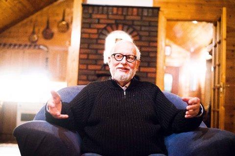 Hroar A. Hansen hviler ikke i sin pensjonisttilværelse. Som oppfinner og gründer jobber han videre med sine patenter.