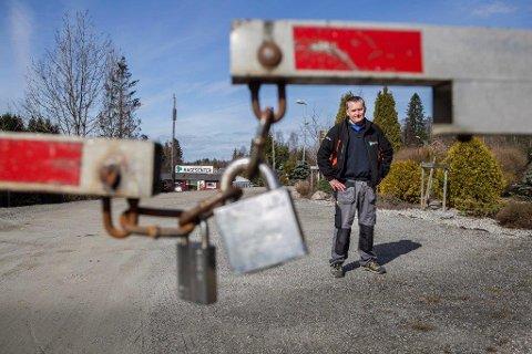 Forhandlingene tar på: Tore Kjønnås opplever Jernbaneverket som en helproff og vanskelig forhandlingspartner, det er brukt mye tid på.