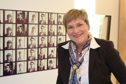 ANSVARLIG: Avdelingsleder på Eikeli, siviløkonom Mona Berit Standahl, er ansvarlig for karrieredagen.