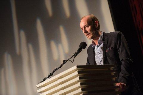 Fritt Ord-direktør Knut Olav Åmås åpner Skudeneshavn Internasjonale litteratur- og kulturfestival i begynnelsen av november.