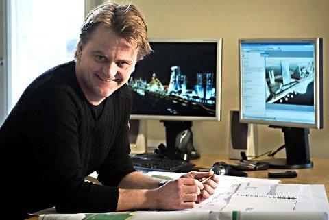 Hardt arbeid ligger bak Tormod Stene-Johansens suksess i Baltikum. Hjemme er det kona Annkristin som har hånden på rattet - derfor deler han hele formuen sin med henne.