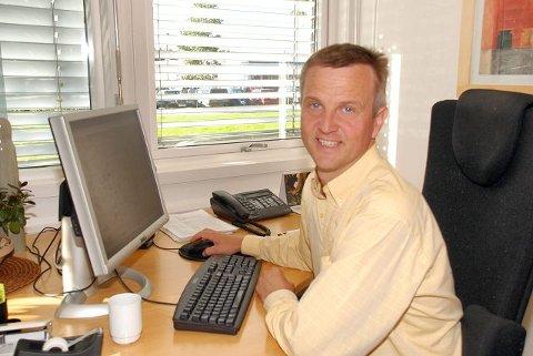Stig Atle Vange er distriktssjef for Mattilsynet i Vestfold. Arkivfoto: Bjørn Hoelseth