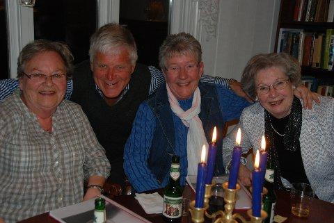 Fra venstre: Inger Marie Edvardsen, Kjell Solvberg, Ingeborg Grendel og Oddbjørg Ingebriktsen.