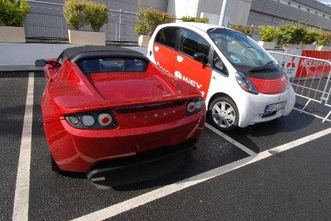 De elektriske bilene utgjorde 1,9 prosent av samlet personbilsalg i første kvartal.