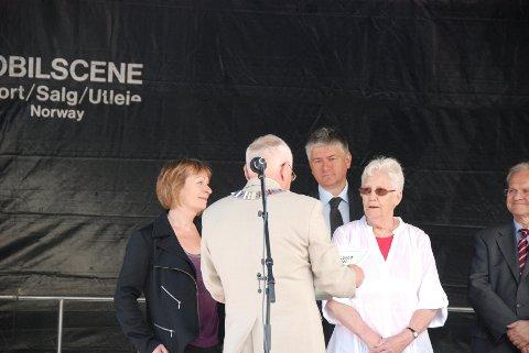 Årets mossianiapris gikk i år til Unni Kiil og Liv Signe Hansen.