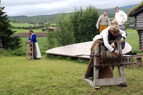 GRUVEDRIFT: Haugianerne talte Røros midt imot og startet gruve i Vingelen.