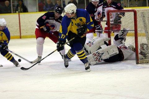 Ski og Johan Lindberg, her fra en tidligere kamp, vant lørdag.