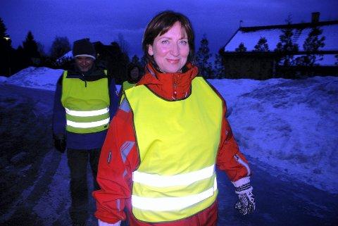 Initiativtaker: Frøydis Viddal tente momentant på konseptet med å gå tur sammen og oppfordrer folk til å bli med på tur.
