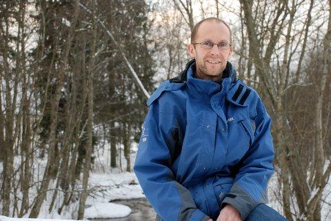 Øystein Mørk (38) fra Lierskogen mener han har mange år igjen som toppløper. Han håper også til å bidra til å skape et godt løpermiljø i Lier, gjennom klubben SK Kraft.