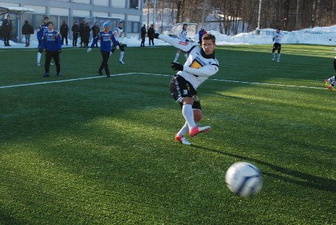 – Veldig moro å score i dag, gliste Bajram Ajeti etter oppvisningen i sin nye klubbdrakt.