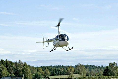 Det kan bli en del helikopterstøy i Vestfold de neste ukene.